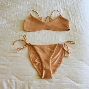 Topshop Peach Bikini